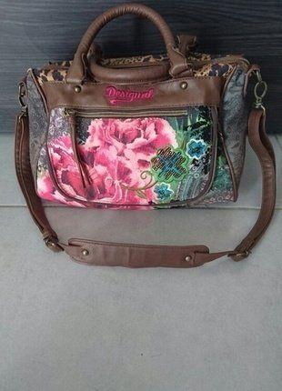 À vendre sur #vintedfrance ! http://www.vinted.fr/sacs-femmes/sac-a-main/25524648-sac-a-main-desigual-imprime-et-sequins