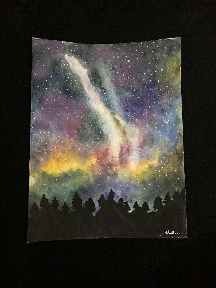 watercolor universe