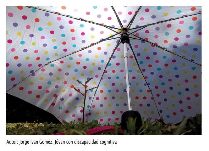 Arte de Jorge Iván Gómez para el Día de las personas con discapacidad.