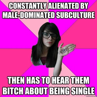 Idiot Nerd Girl meme - this one made me giggle