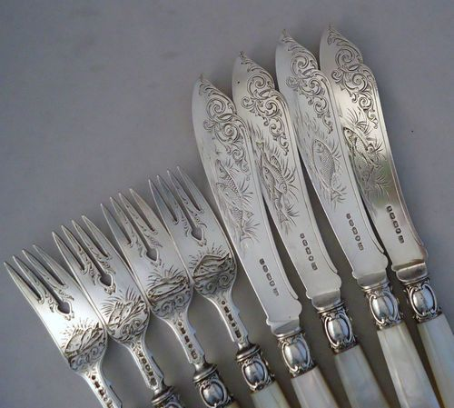 204 best pearl handled flatware images on pinterest - Pearl handled flatware ...
