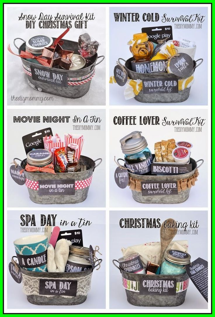 DIY IDEAS: A whole bunch of gift basket ideas