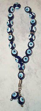 Greek Evil Eye worry beads