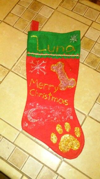 Diy Dog Stocking 98cents Stocking 98cents 2pack Glitter