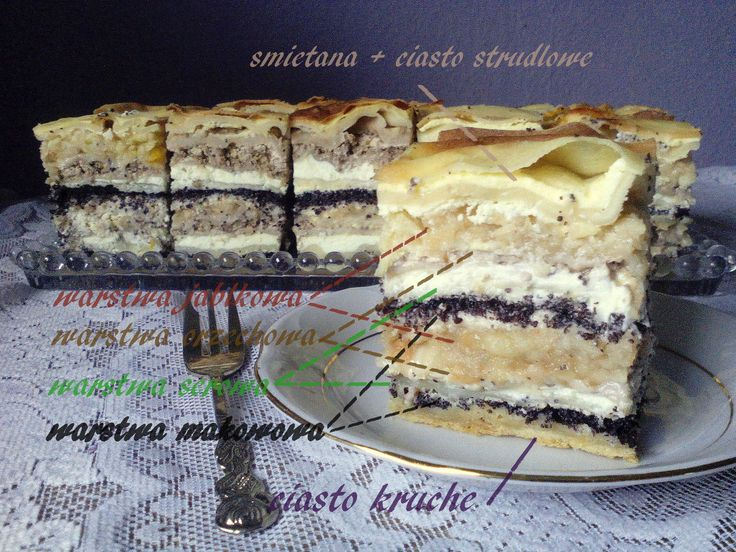 słoweńskie ciasto przekładane PRZEPIS