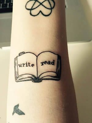 25 best ideas about writer tattoo on pinterest word tattoos word tattoo placements and word. Black Bedroom Furniture Sets. Home Design Ideas
