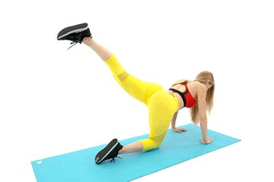 CLAMSHELLS HIGHT EXERCISE – 25 REPS
