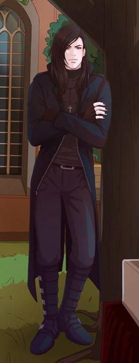 Greyson tiré de l'illustration du chapitre 1.  Credit : Nominee84