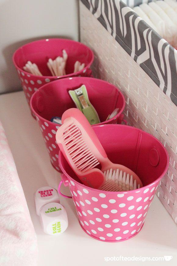 Pink and Gray Baby Girl's Nursery – All Girl