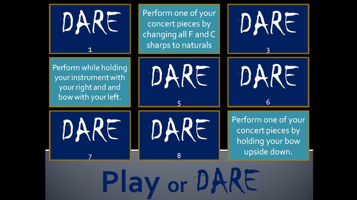 Super fun review game for your music class: PLAY or DARE!