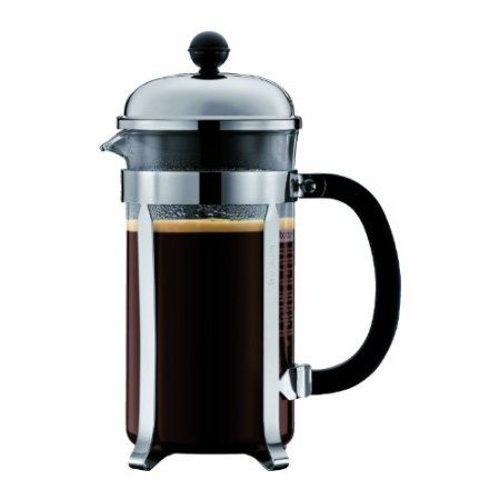 I love my french press, makes the best strong coffee AND uses less energy