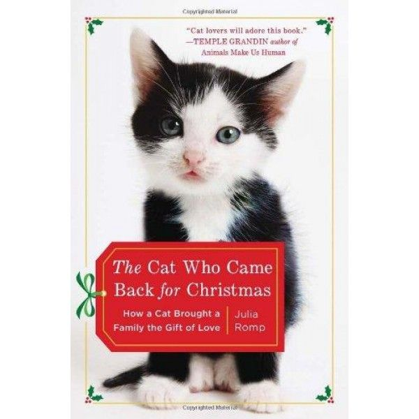The Cat Who Came Back for Christmas: How a Cat Brought a Family the Gift of Love  The heart-warming true story of a little boy and the cat that changed his life.  Julia's nine-year-old son George was autistic. Quiet and withdrawn, he appeared lost in his own world. Then one day a small black-and-white stray cat appeared in her garden and George's face lit up.