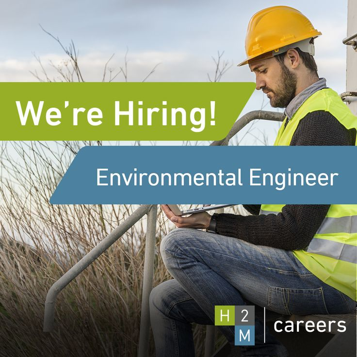 We're Seeking an Environmental Engineer with 7-10 years of experience in Melville, NY.  Job Description: The ideal candidate will perform and manage environmental site assessments, hydrogeologic investigations, remedial investigations, and remedial planning/design.  For more information, please visit www.h2m.com/careers #H2M #Hiring #ApplyNow #Careers #EnvironmentalEngineer #Environmental #JoinOurTeam  #Engineering #Career