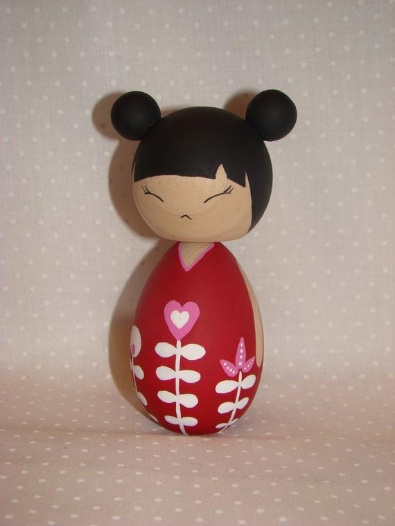 92 Best Peg N Kokeshi Images On Pinterest Kokeshi Dolls