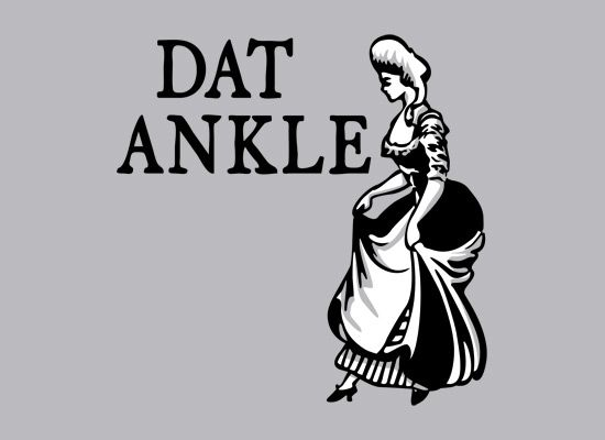 Dat Ankle geek shirts