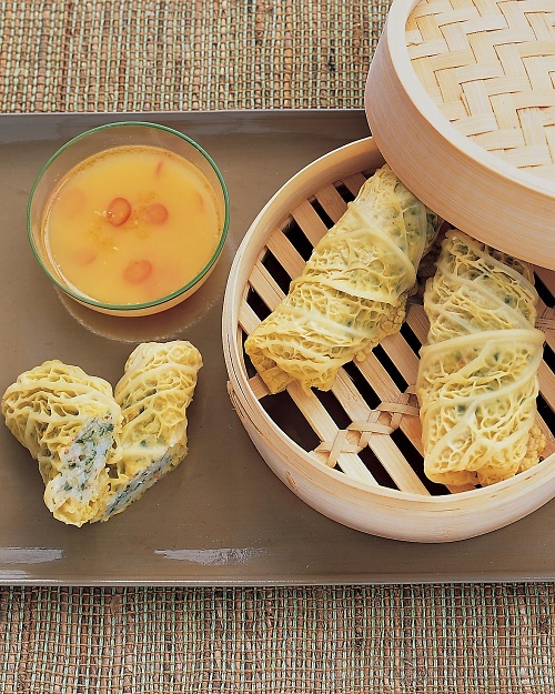 Shrimp Rolls with Citrus-Ginger Dipping Sauce - Martha Stewart Recipes