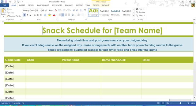 ms office templates and printables can help organize your life