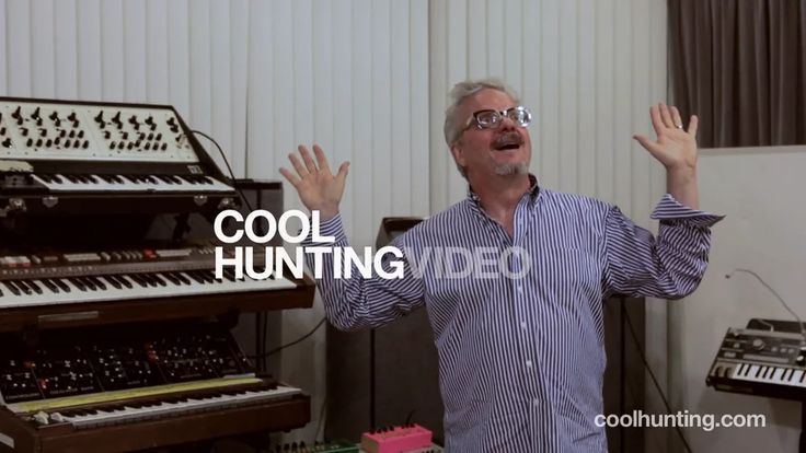 Cool Hunting Video: Mark Mothersbaugh's Synth Collection on Vimeo