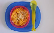 Carrot, Corn And Chicken Recipe - Baby