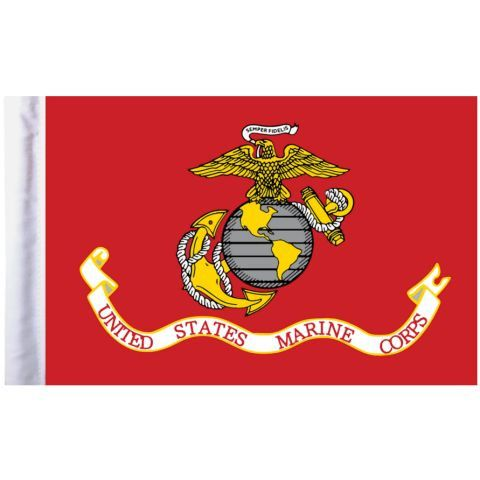 U.S. Marine Corps Pro Pad Motorcycle Flag