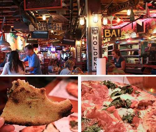 Bar Harbor, Maine - home of good pizza (yes, with seafood) and great beer