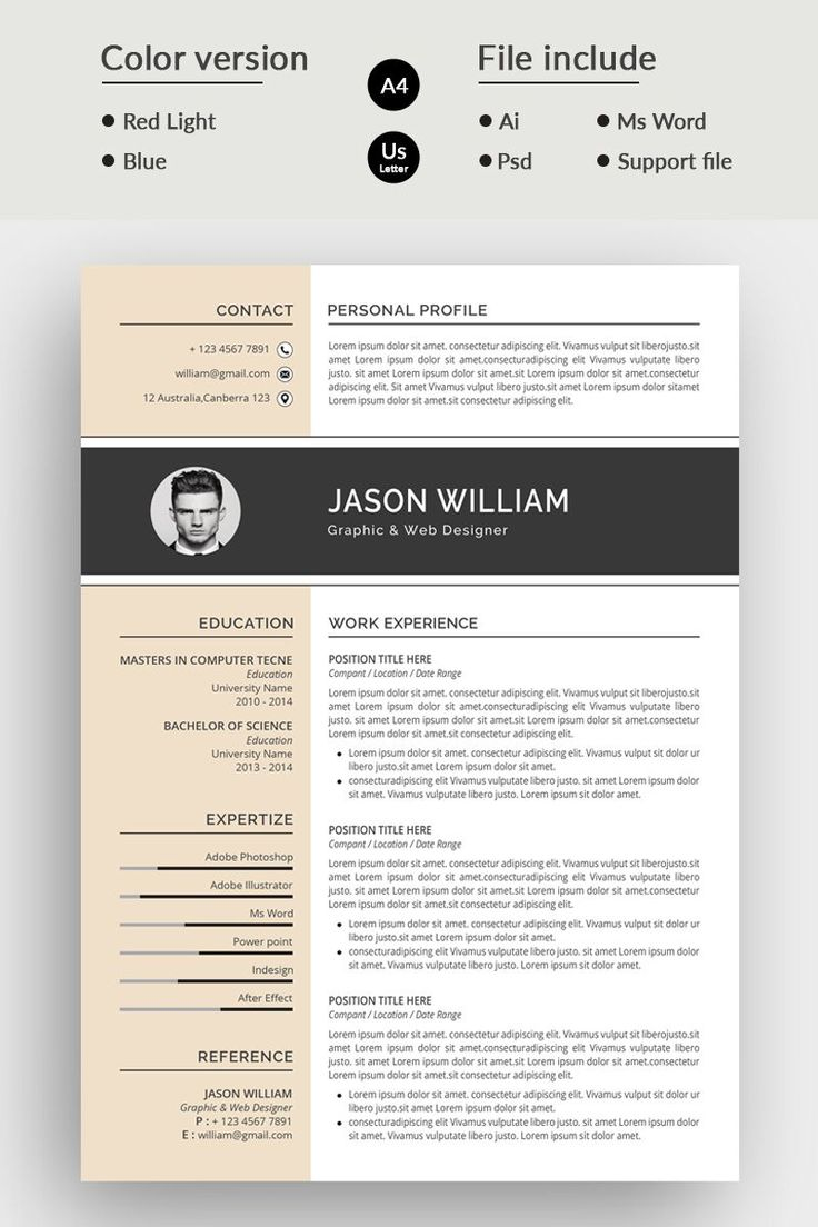 16+ Pictures of good resumes ideas