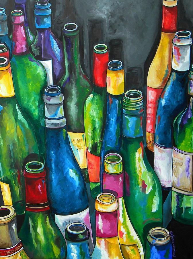 An Evening With Friends Fine Art Print - Patti Schermerhorn