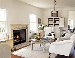 white living room interior decorating idea