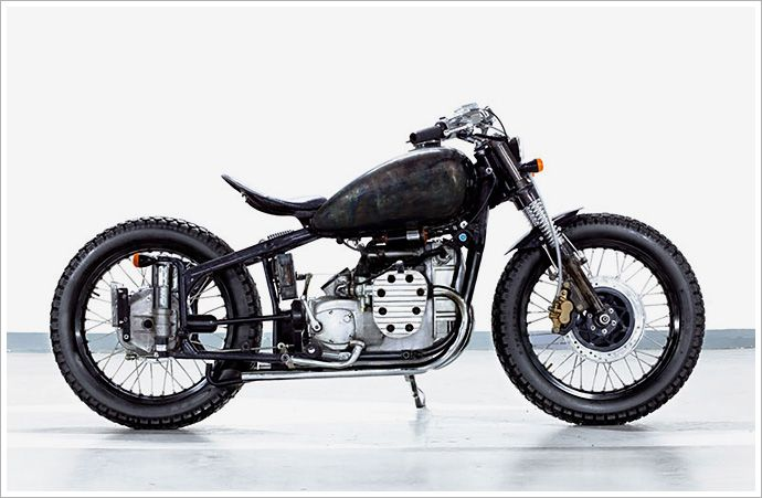 Home Run.  Tank and frame were blasted with a torch for the marbled effect.  No paint here, folks.Motorcycles, Cafes Racers, 750 Magnus, Changjiang, Bandit9 Magnus, Change Jiang, 9 S Change, Motorbikes Gallery, Jiang 750