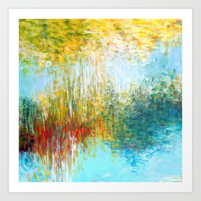 Awakening The Spirit 2 by Jessica Torrant #abstract #painting #print
