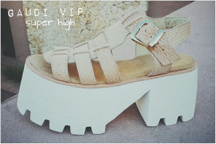 GAUDI VIP SUPER HIGH ♡ Esterilla Camel ♡ // Let your mind be free #sofiadegrecia #fashion #shoes