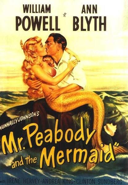 "1948 ""Mr Peabody and the Mermaid"" William Powell Ann Blyth"