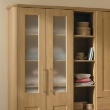Half Glazed Full Height Wardrobe Doors - By BA Components