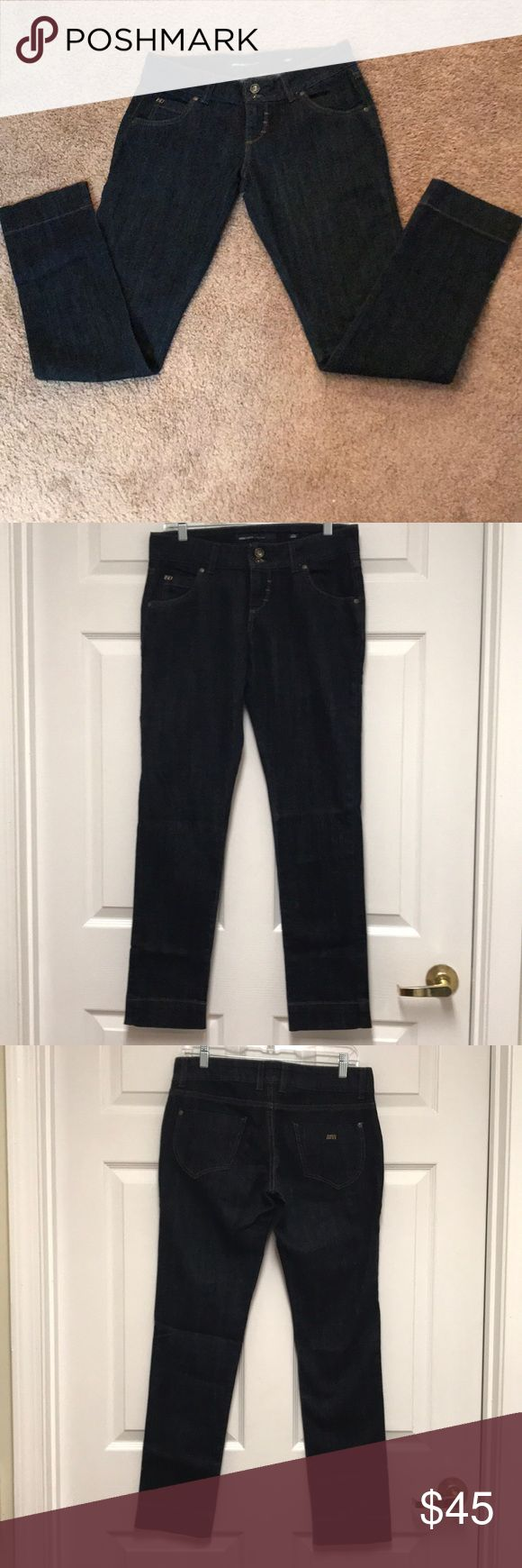 Miss Sixty Binky Jeans Pre-Owned Miss Sixty Binky Dark Wash Jeans Excellent Condition 30x32 99% Cotton 1%Spandex Miss Sixty Jeans Straight Leg