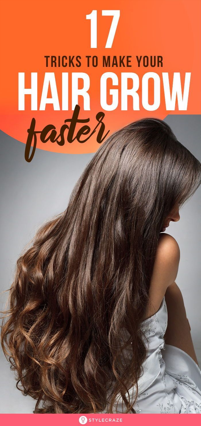 10 Simple Tricks To Make Your Hair Grow Faster: Hair is often
