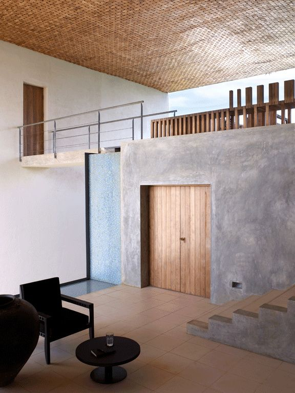 Shigeru Ban . villa vista, Sri Lanka  Less is more, definitely
