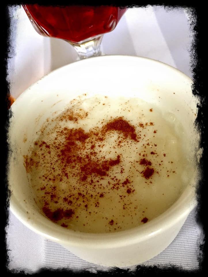 Creamy Rice Pudding (Roz Belaban) for dessert.