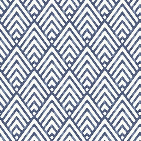 Vertex Indigo Diamond Geometric | Wallpaper Warehouse