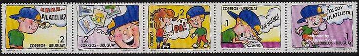 Youth philately 5v [::::], Country: Uruguay, Year: 1997, Product code: surp2255, Nr. Michel: 2255/59, Nr. FSC: 29720