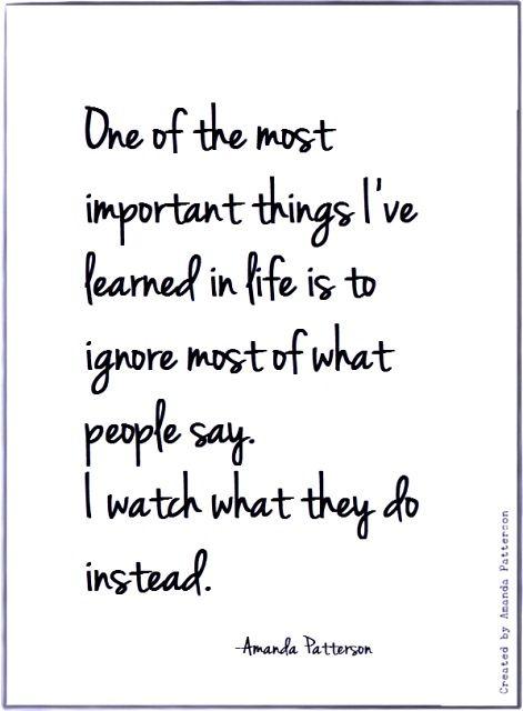 Definately something I have learned