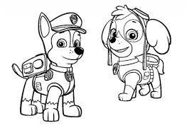 colorear patrulla canina - Buscar con Google