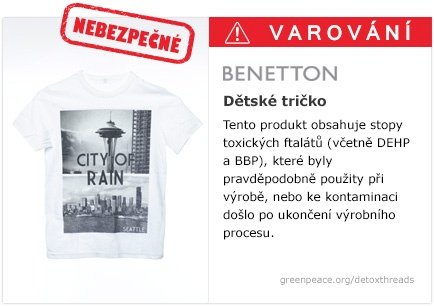Benetton tričko   #Detox #Fashion