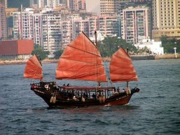 Old Chinese boat