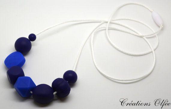 Collier sensoriel avec différentes formes de par CreationsOlfee