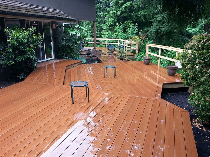 westech building products trugrain porch decking made