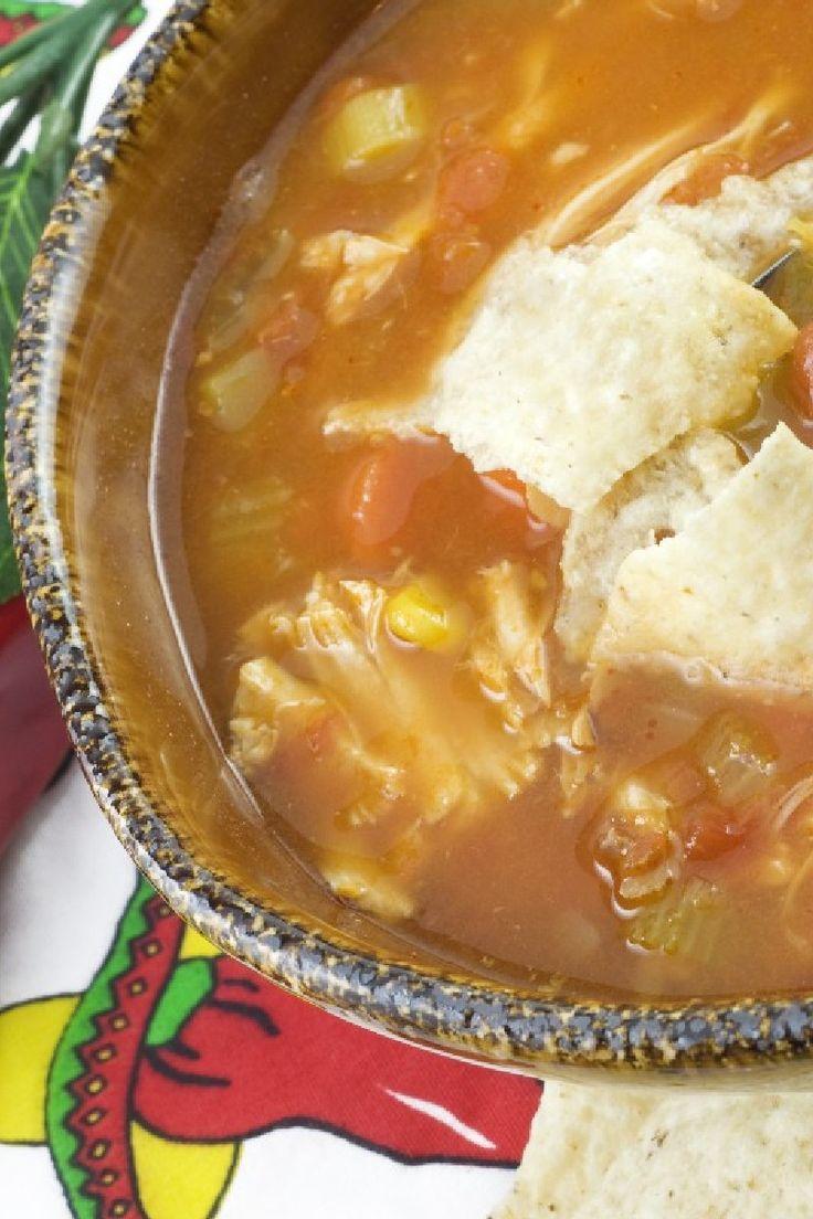 ... Chicken Tortilla Soup, Chicken Tortillas Soup, Chicken Broth, Soup