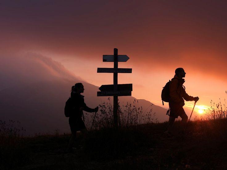 trekking :)