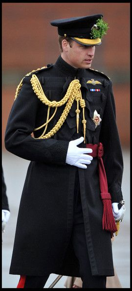 Prince William Given New Role as 'Personal Aide de Camp' to the Queen - The new position has few duties but will be seen as symbolic of William's growing role within the royal family. William's honorary appointment was detailed in the Court Circular and the duke wore the insignia for the first time at the St Patrick's Day parade for the 1st Battalion Irish Guards at Mons Barracks