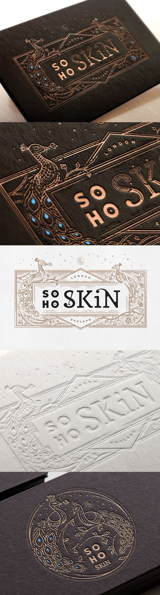 Best 25 letterpress business cards ideas on pinterest embossed beautiful hand drawn illustration on a black and gold letterpress business card magicingreecefo Gallery