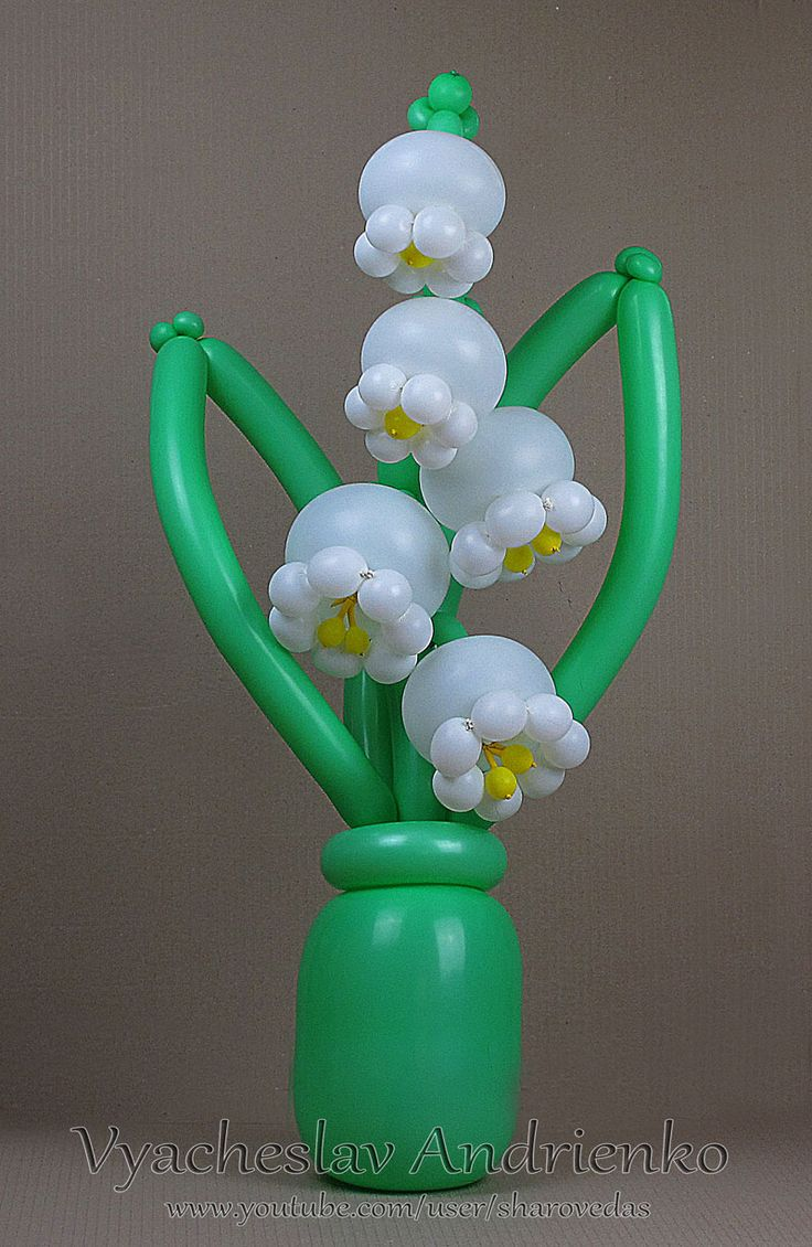 Balloon bouquet delivery balloon decorating 866 340 - Lily Of The Valley Of Balloons